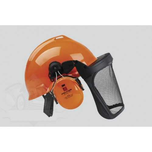 Safety helmet Peltor G22D hearing and face protection