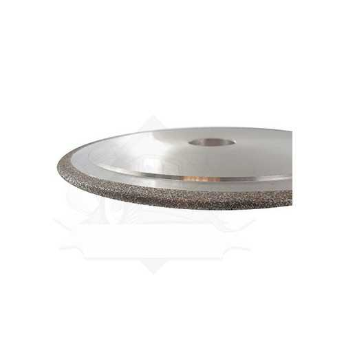 Diamond grinding stone for sharpening saw chains carbide-tipped cutters