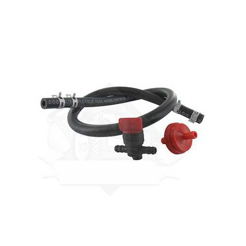 Fuel tank connection kit (tap, filter, clamp and hose)universal, adaptable BRIGGS & STRATTON.
